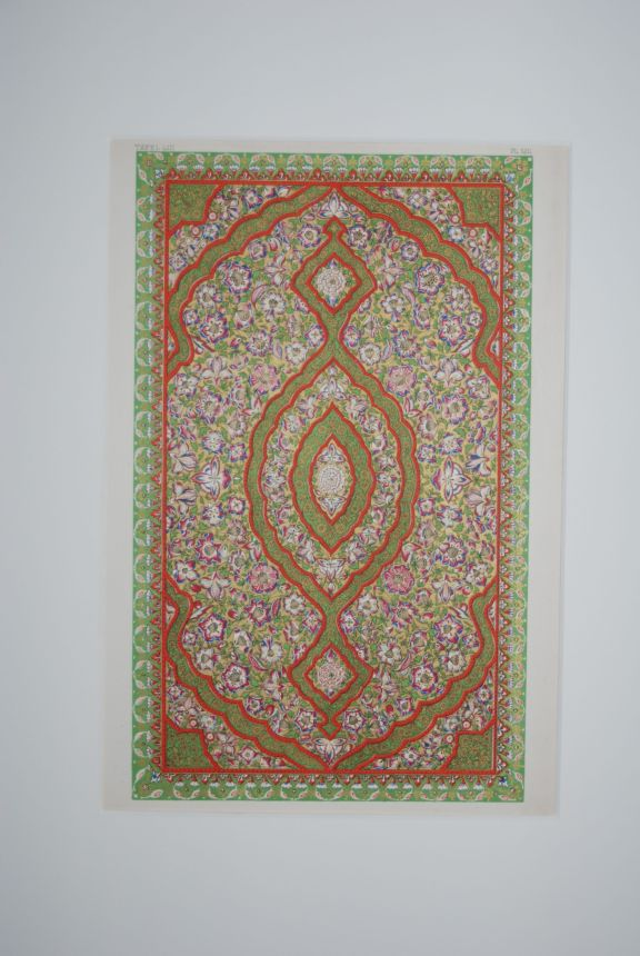 Indian No. 5A. (PRINT) (GRAMMAR OF ORNAMENT). Owen Jones.
