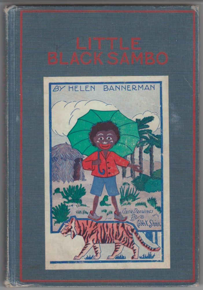 Little Black Sambo. The Enlarged Picture Edition. Helen Bannerman.