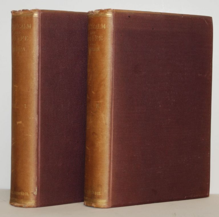 Montcalm and Wolfe. Two volumes. Francis Parkman.