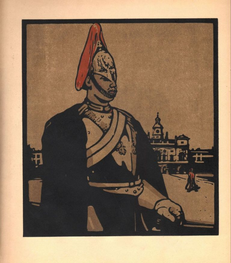 Horse Guard / Guardsman (print). William Nicholson.