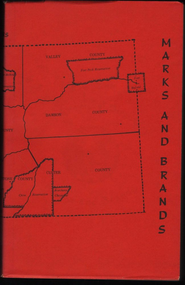 Stockgrower's Directory Marks and Brands for the State of Montana 1872 to 1900. Van Dersal, Conner.