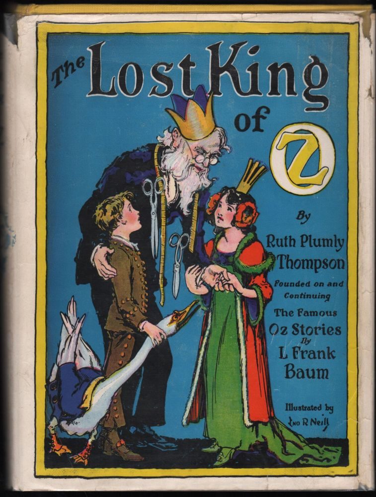 The Lost King Of Oz. Ruth Plumly Thompson.