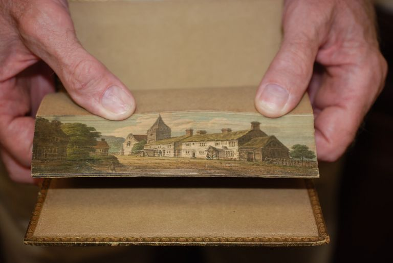 Poems and Jacqueline, a Tale. Two works bound in one volume. Fore Edge Painting, Samuel Rogers.