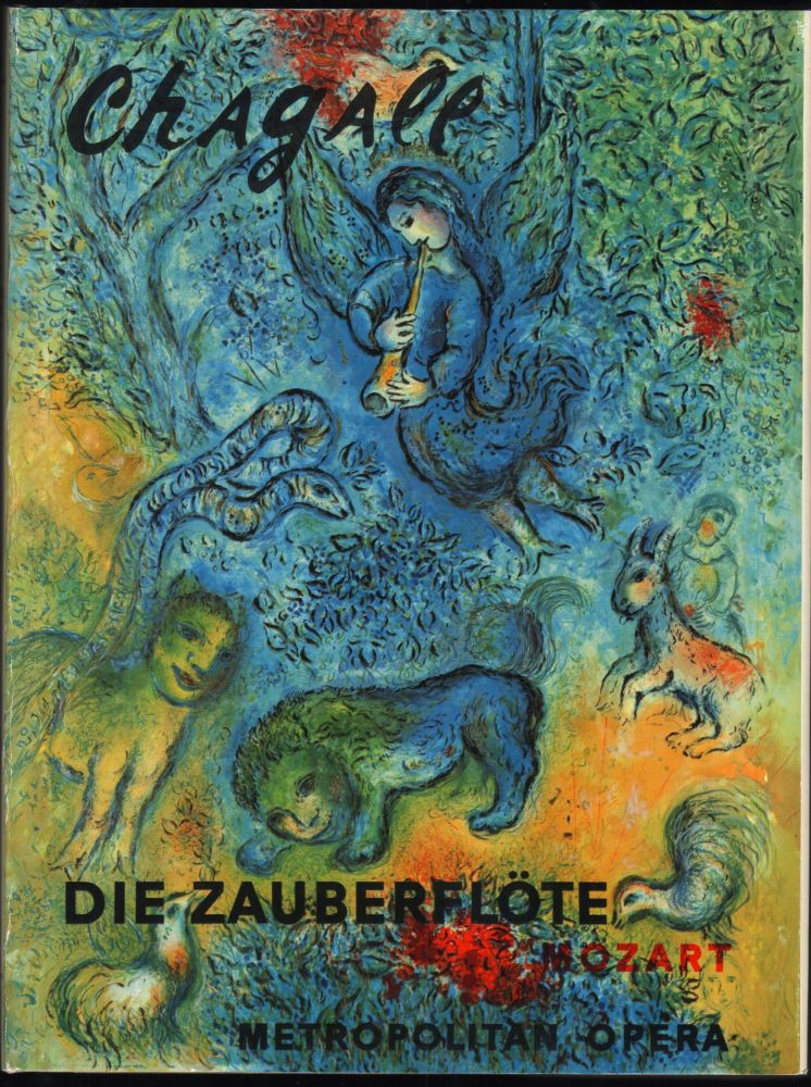 """Chagall at the """"Met"""" Emily Genauer."""