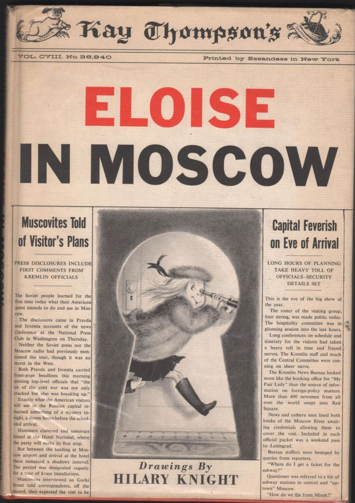 Eloise In Moscow. Kay Thompson.