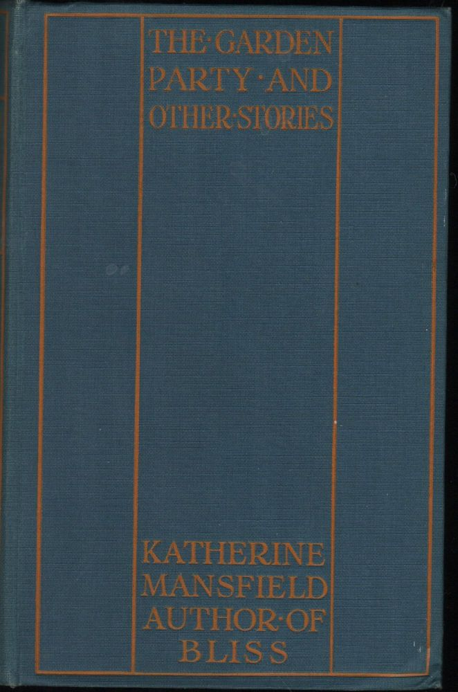 The Garden Party and Other Stories. Katherine Mansfield.