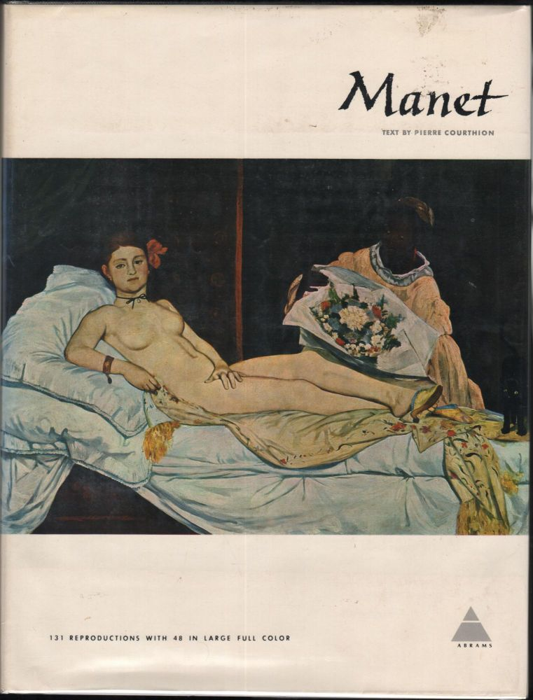 Edouard Manet. The Library of Great Painters. Pierre Courthion.