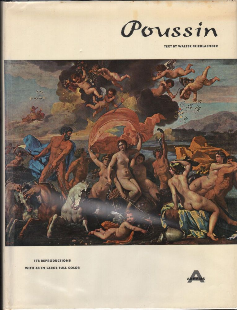 Nicolas Poussin; A New Approach. The Library of Great Painters. Walter Friedlaender.