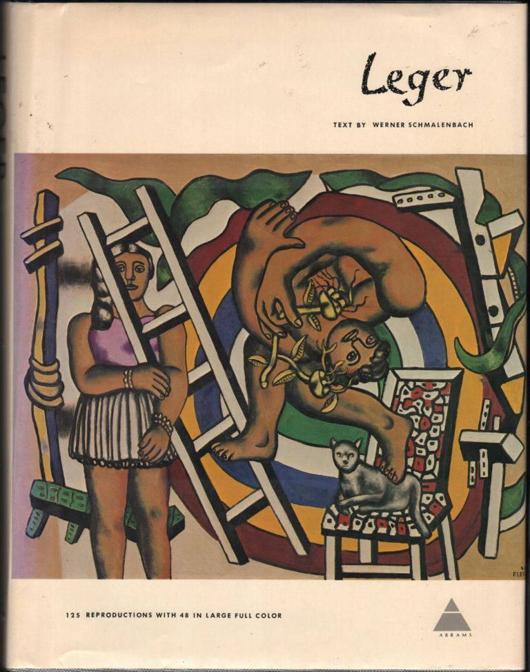 Fernand Leger; The Library of Great Painters. Werner Schmalenbach.