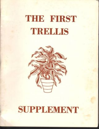 The Trellis Supplement; Summer 1974. Jayne Anne Phillips, Margaret Anderson