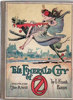 The Emerald City Of Oz. L. Frank Baum