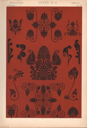 Greek No. 6. (PRINT) (GRAMMAR OF ORNAMENT). Owen Jones