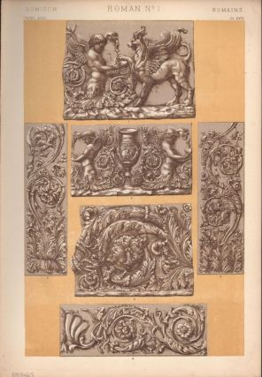Roman No. 1. (PRINT) (GRAMMAR OF ORNAMENT
