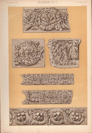 Roman No. 2. (PRINT) (GRAMMAR OF ORNAMENT). Owen Jones
