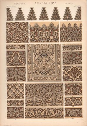 Arabian No. 2. (PRINT) (GRAMMAR OF ORNAMENT). Owen Jones
