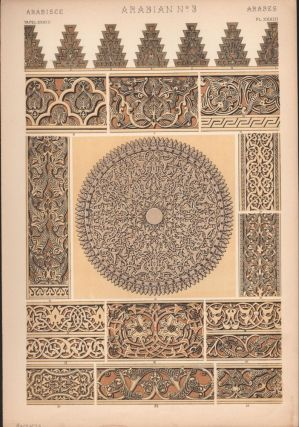 Arabian No. 3. (PRINT) (GRAMMAR OF ORNAMENT). Owen Jones