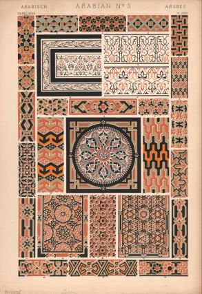 Arabian No. 5. (PRINT) (GRAMMAR OF ORNAMENT). Owen Jones