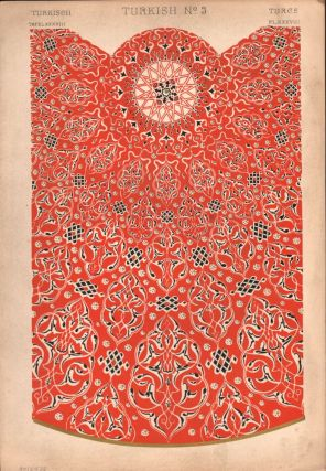 Turkish No. 3. (PRINT) (GRAMMAR OF ORNAMENT). Owen Jones