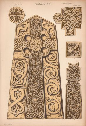 Celtic No. 1. (PRINT) (GRAMMAR OF ORNAMENT). Owen Jones