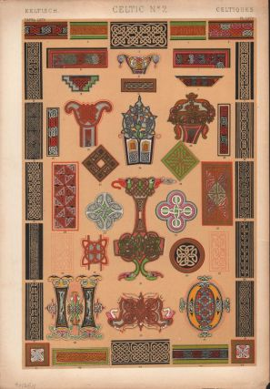 Celtic No. 2. (PRINT) (GRAMMAR OF ORNAMENT). Owen Jones