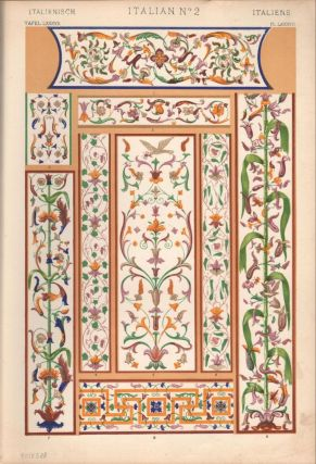 Italian No. 2. (PRINT) (GRAMMAR OF ORNAMENT)