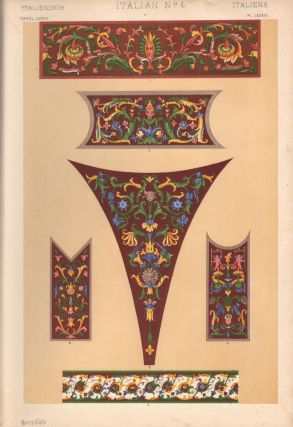 Italian No. 4. (PRINT) (GRAMMAR OF ORNAMENT). Owen Jones