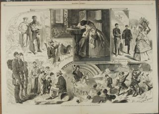 NEWS FROM THE WAR (Print). Winslow Homer