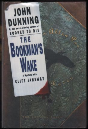 The Bookman's Wake; A Mystery with Cliff Janeway. John Dunning.
