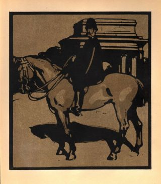 Policeman / Constitution Hill (print). William Nicholson.