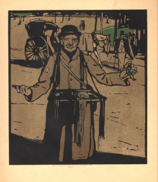 Hawker / Kensington (print). William Nicholson.