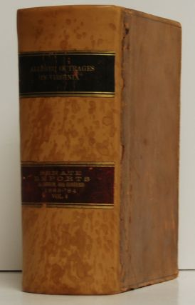 """Alleged Outrages in Virginia"" in Senate Reports, 1st Session, 48th Congress 1883-'84, Volume 6"