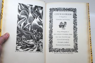 Cockalorum; A Sequel to Chanticleer and Pertelote, Being a Bibliography of The Golden Cockerel Press June 1943 - December 1948