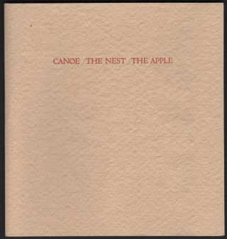 Three Poems; Canoe, The Nest, The Apple. Guernsey Bruce